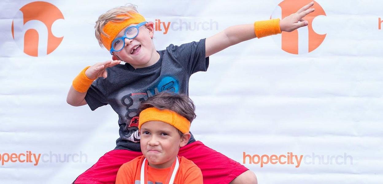 Kid ministries at hopecity church in Milwaukie & Portland, OR