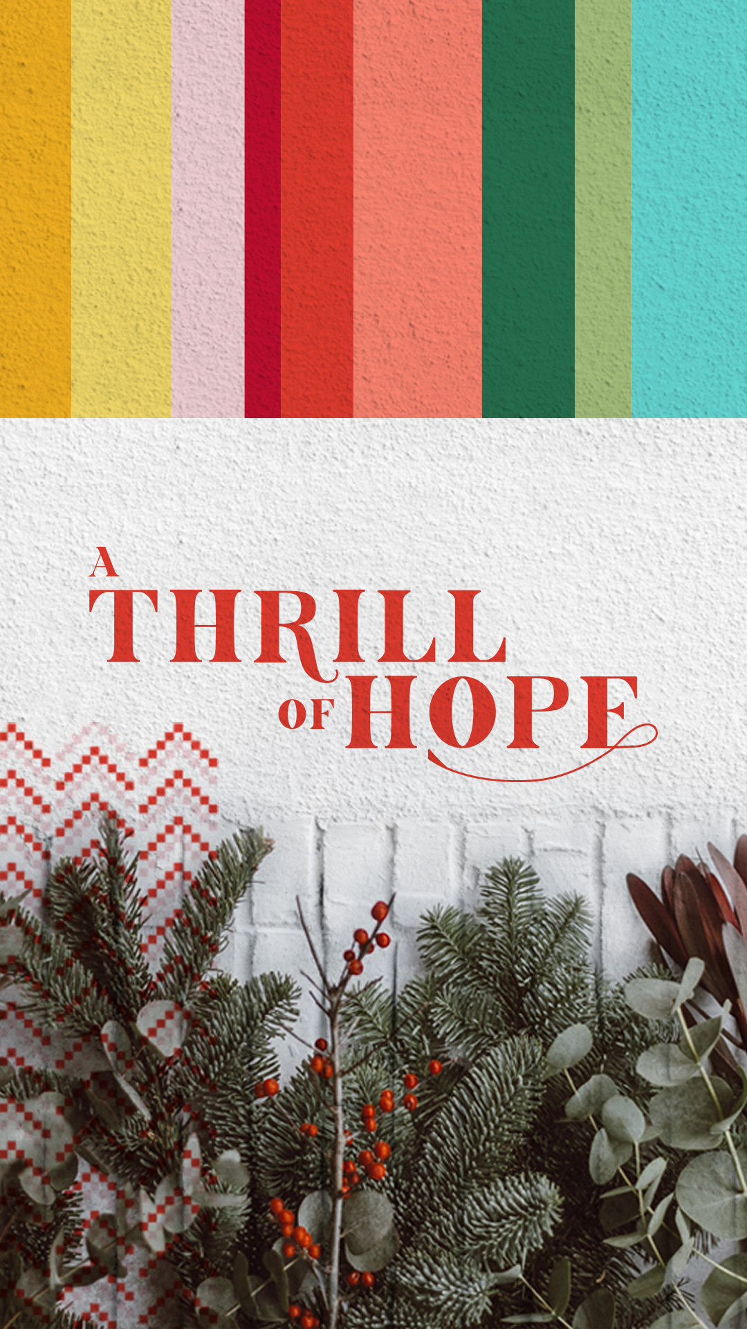 A Thrill of Hope Shareable Instagram Story 1