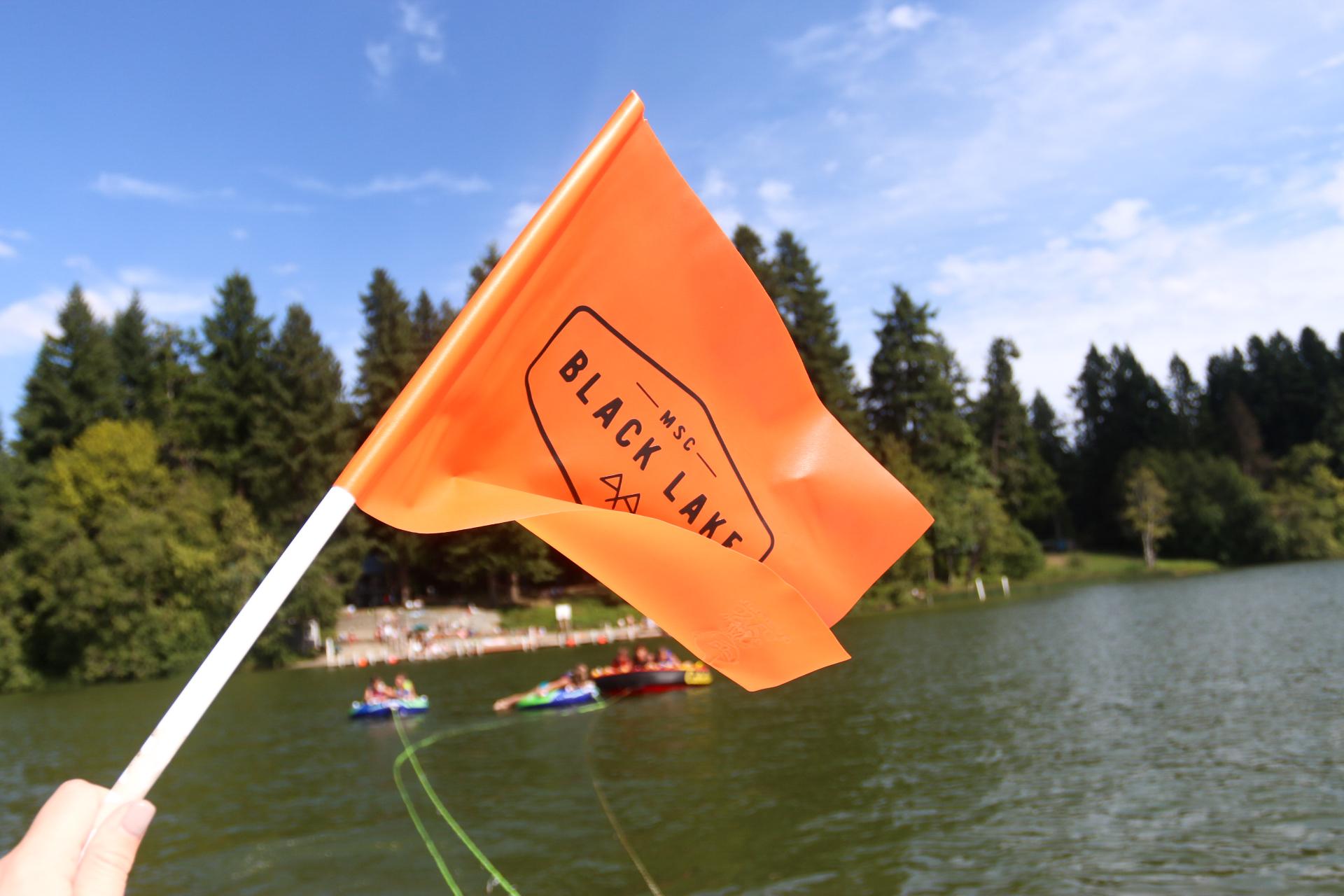 Black Lake tubing