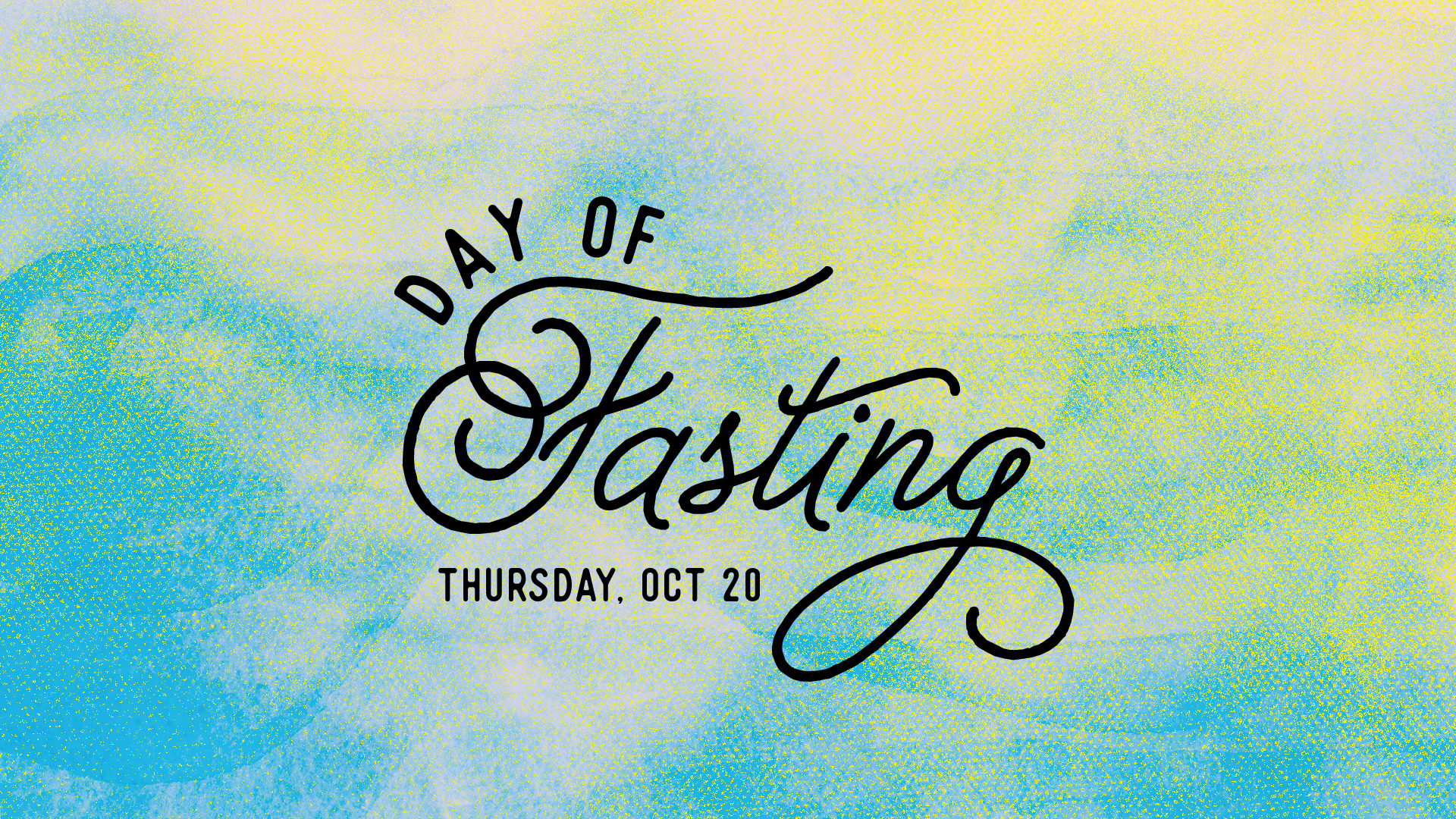 A Day of Fasting