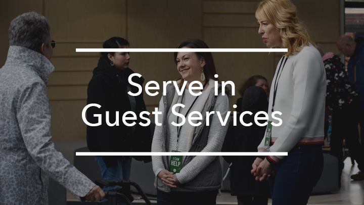 Guest Services Volunteer Push