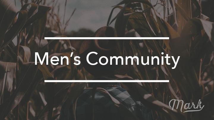 Register for Men's Community