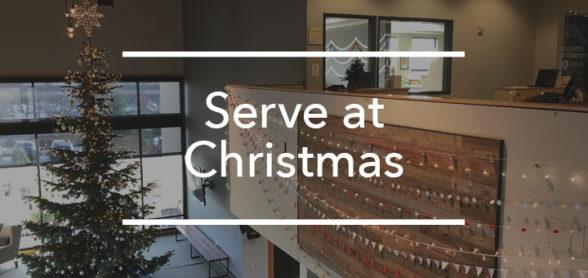 Serve at Christmas