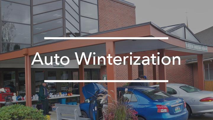 Auto Winterization Clinic