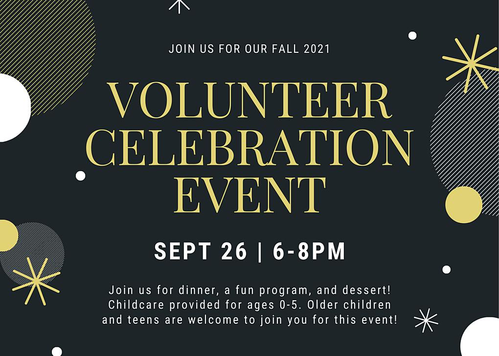 Volunteer celebration event 2021 1