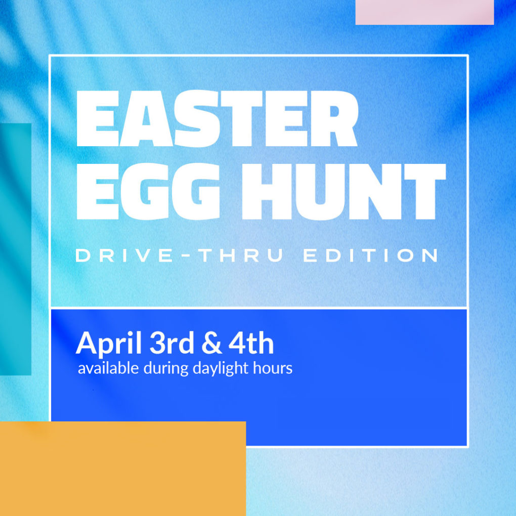 Easter Egg Hunt Web Graphic