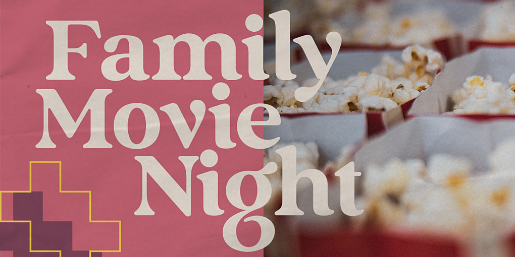 Family Movie N Ight banner