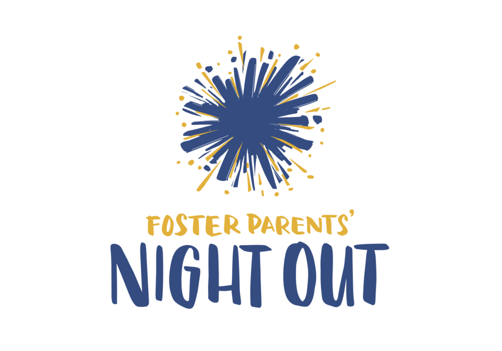 Foster Parents Night Out logo TALL