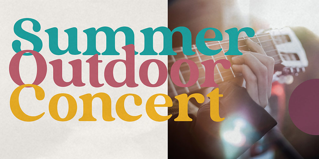 Summer Outdoor Concert banner