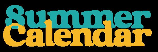 Summer Calendar Color LG